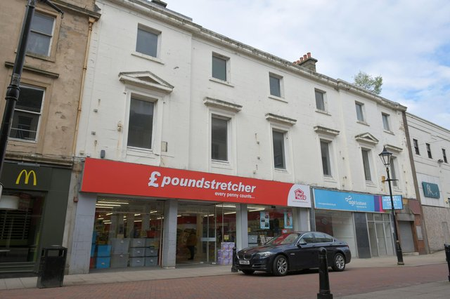 REWD group has now been given the go ahead to convert the upper floor of Falkirk High Street's Poundstretcher building into 23 flats