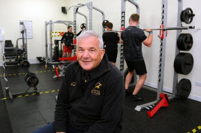 Grangemouth Stags Rugby Club president Alan McKenzie