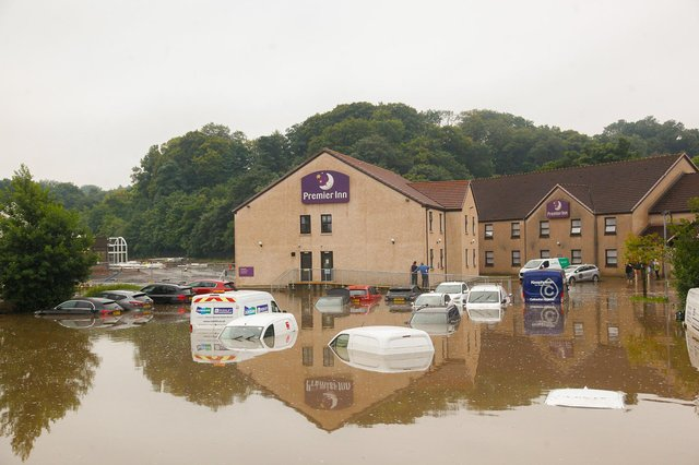 Premier Inn has now employed an engineer to come up with a flood prevention plan for its Cadgers Brae hotel