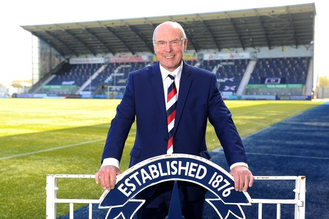 Totten has served Falkirk as a supporter, a player, a manager and in the commercial department. Picture: Michael Gillen.