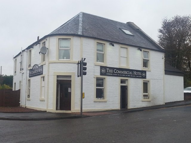 Hotchkies committed carried out the assault outside the Commercial Hotel in Larbert