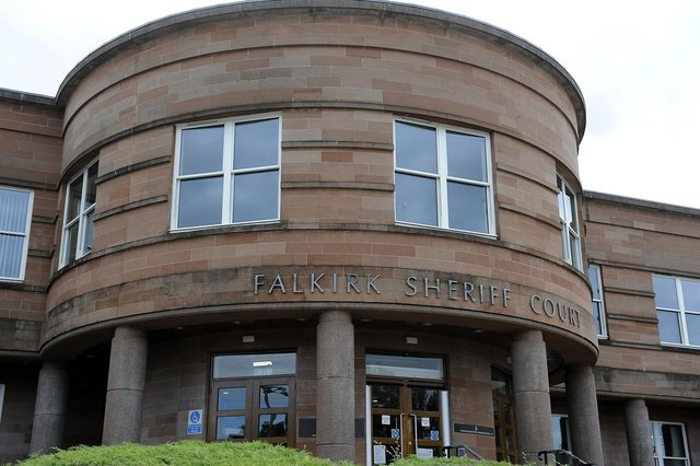 Andrew York, of Camelon, appeared at Falkirk Sheriff Court on Thursday. Picture: Michael Gillen.