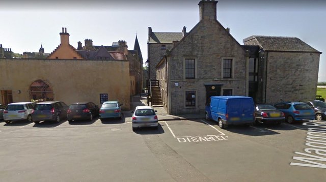 The library, at Scotland's Close, is in need of modernisation.