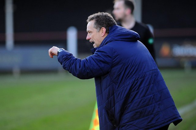 Bo'ness United manager Max Christie was not happy with MacLennan's challenge on Galbraith