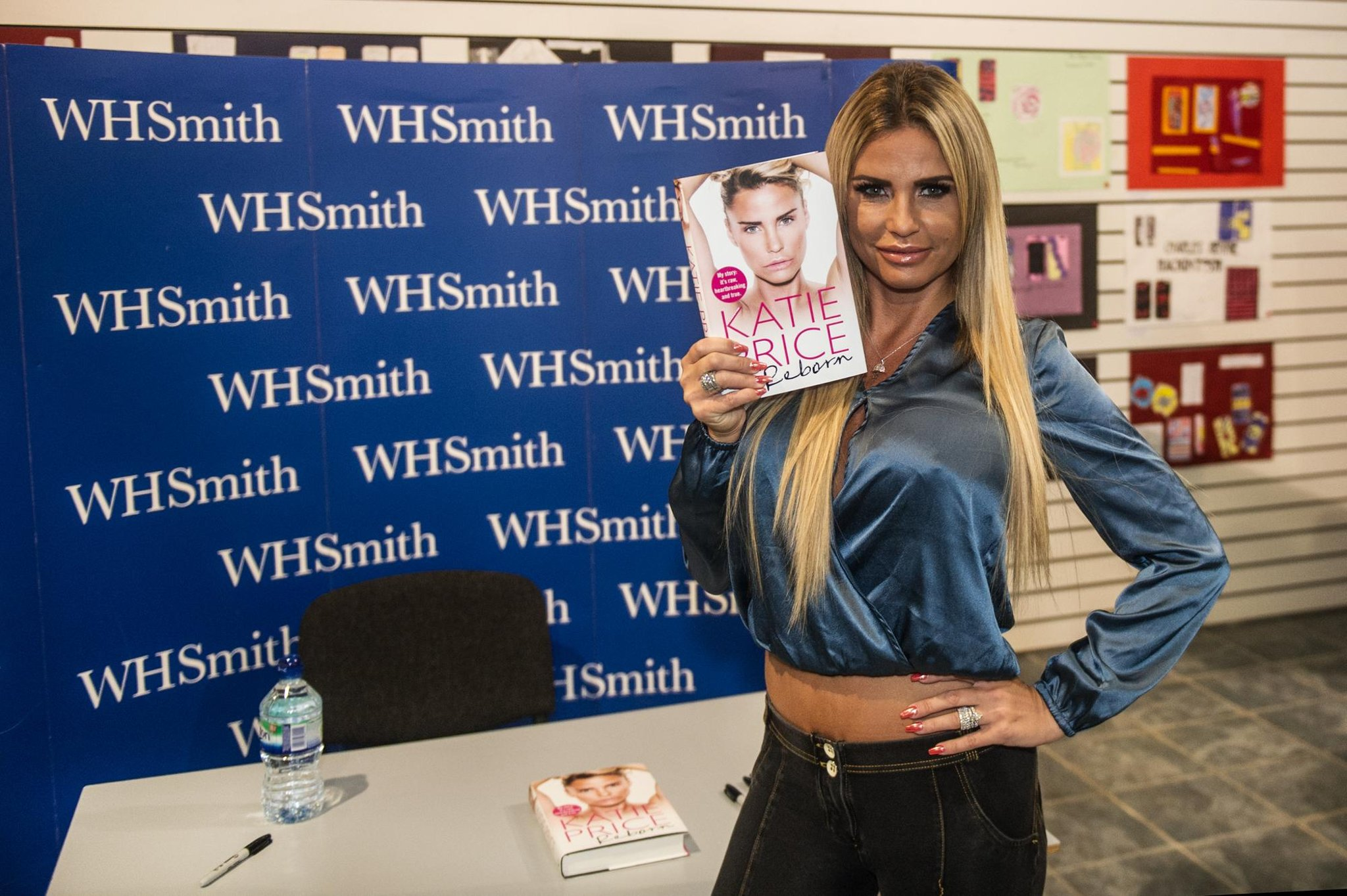 Katie Price unveils make-up masterclass in Falkirk area – and this is how much it costs