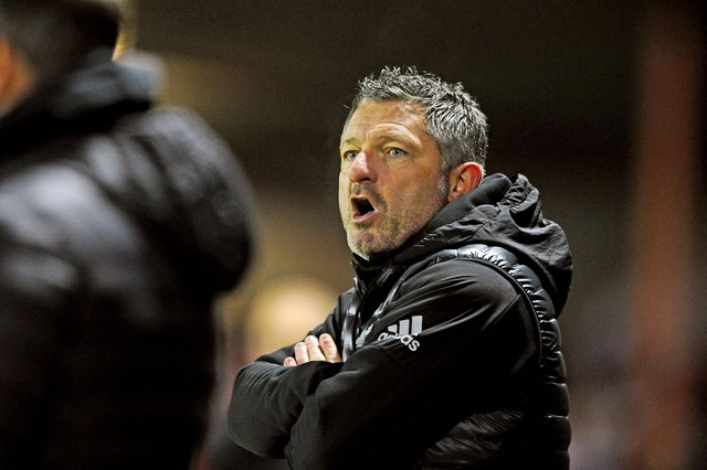 Former Falkirk coach Tony Docherty will aim to help Forfar in their battle against relegation from League 1