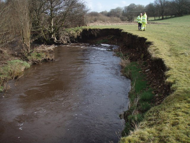 The works will be carried out on the Bonny Water riverbank for four weeks
