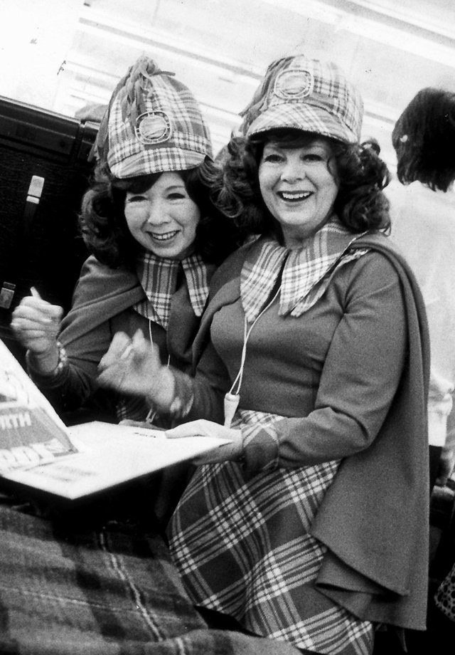 Scottish entertainers  Fran and Anna sported the tartan look - but is it outdated in 2020?