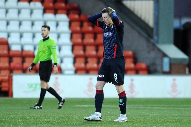 Blair Alston's second spell with Falkirk has come to an end just one year in to a two year deal