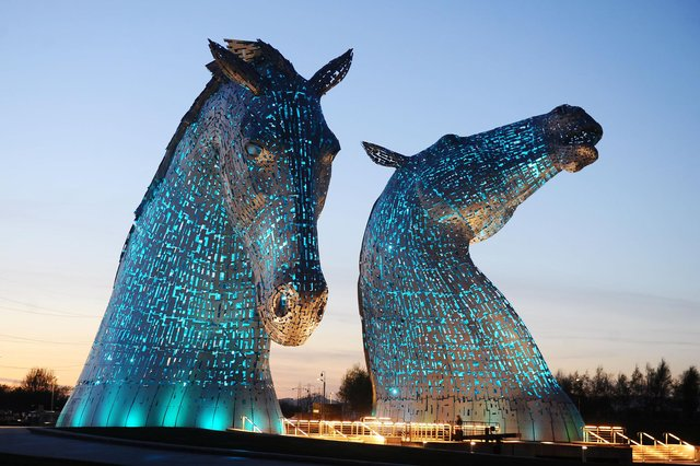Falkirk Community Trust is currently responsible for the management of the Helix Park, home of the world famous Kelpies