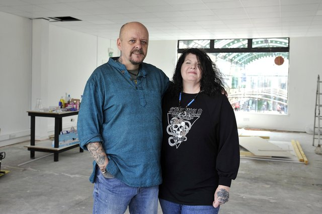 Murray Robertson and wife Gayle are moving Studio IX into new, larger premises because their existing studio is scheduled for demolition