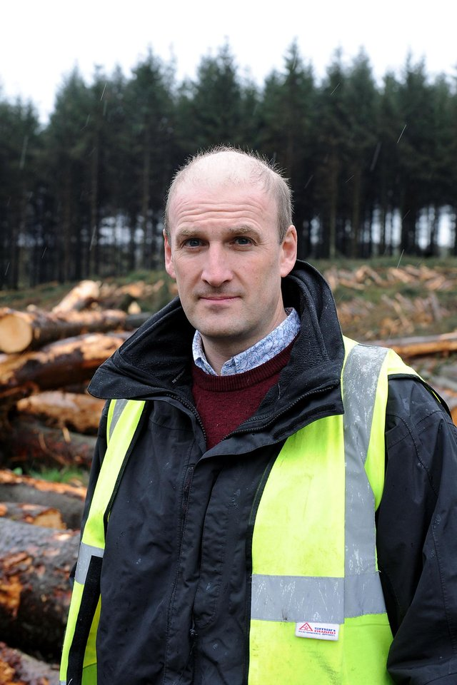 Callendar Estates manager Guy Wedderburn says leaving debris on the cycle track is unacceptable behaviour and us urging cyclists to remain vigilant
