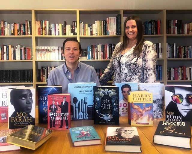 Palimpset - managing director John Forsyth and operations manager Julie Garvock
