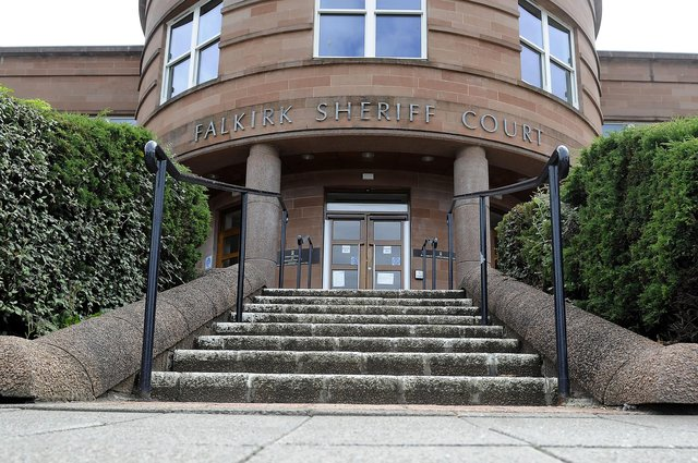 Gray carried out his attack on the man at Falkirk Sheriff Court