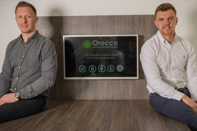 Orocco managing directors Mark Ivinson (left) and Jonny Blurton.