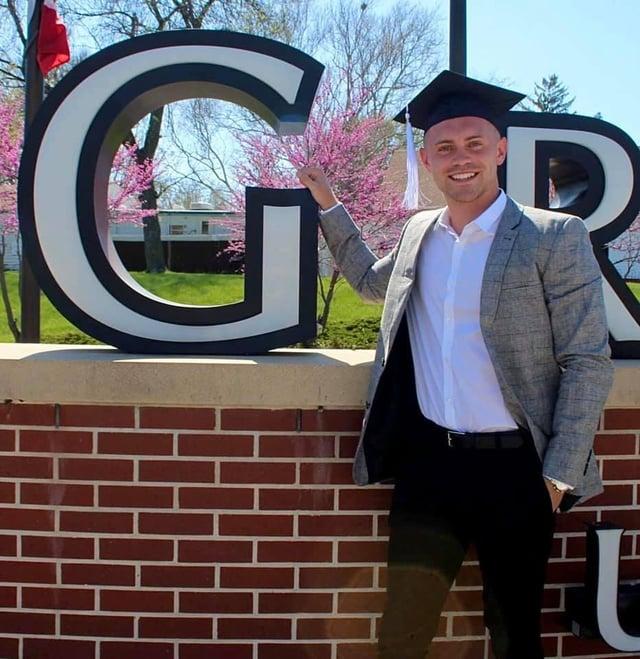 Joseph Bell has graduated from Grandview University in Iowa