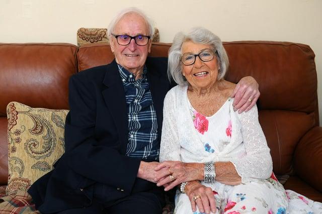 Syd and Enid Reid celebrate their 70th wedding anniversary tomorrow
