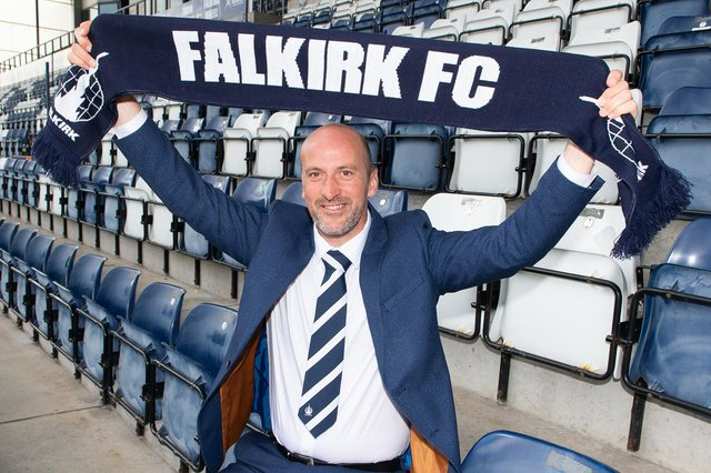 Paul Sheerin is the new Falkirk manager (Pic: Ian Sneddon)