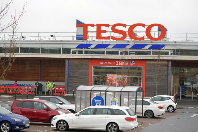 Stirling had the knife in his pocket when he was in Camelon's Tesco superstore