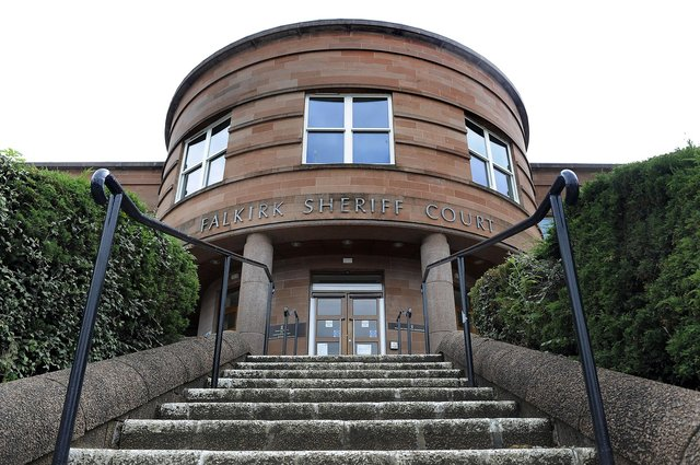 Sneddon appeared at Falkirk Sheriff Court to answer for his assault to injury offence