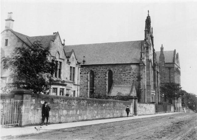 The original St Francis Xaviers church in Hope Street.