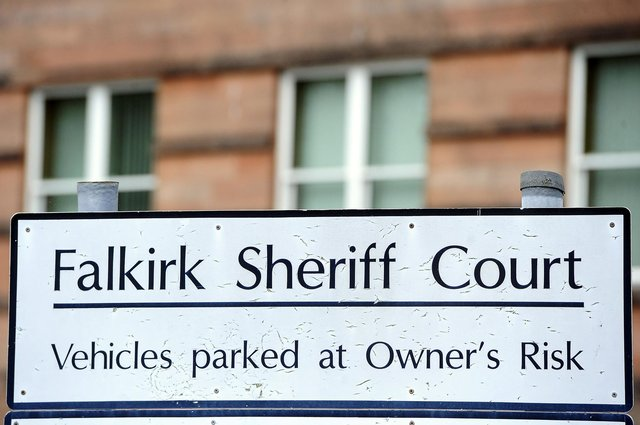 Sinclair appeared at Falkirk Sheriff Court to answer for the threatening behaviour offence she committed