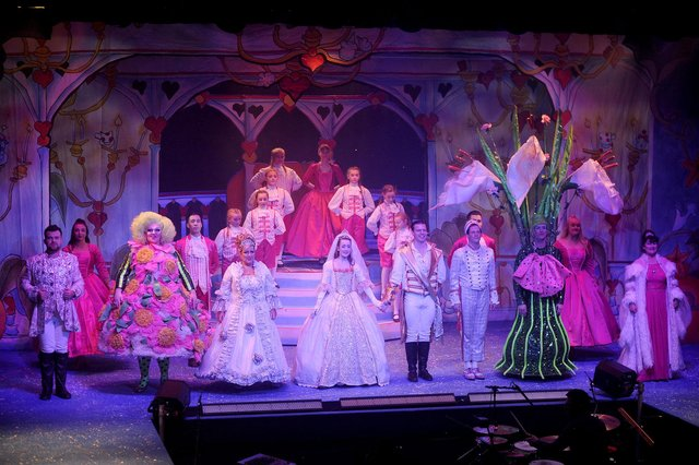 Falkirk Community Trust, which hosted Cinderella at Falkirk Town Hall in 2018, is hoping to bring a pantomime back to the area in 2021, provided it's viable to do so. Picture: Michael Gillen.
