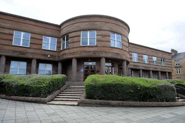 Ross Adams, of Banknock, was expected to show at Falkirk Sheriff Court last week. Picture: Michael Gillen.