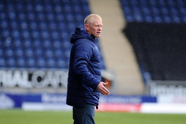 Falkirk interim manager Gary Holt was bemused as Sean Kelly's 90th minute equaliser was disallowed