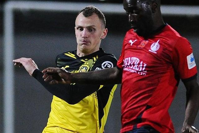 Striker Jaime Wilson netted a hat-trick as a trialist for Falkirk last Saturday
