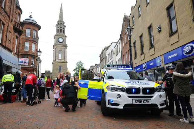 Crowds flocked to the Emergency Services Day events in 2019.