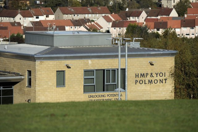 Roulston attacked staff at Polmont YOI, throwing hot coffee over them and striking them with an ironing board