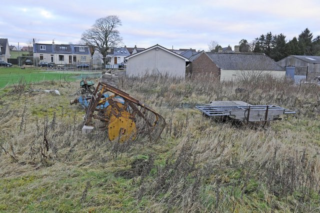 Westquarter and Redding Cricket Club  has plans to build a new clubhouse on the spare ground and more community integration. (Pic: Michael Gillen)