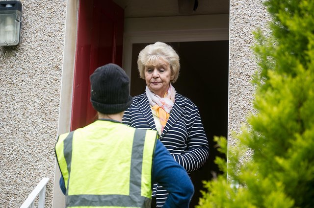 Police have shared fraud prevention advice after a number of recent reports of scams in Forth Valley. Picture: John Devlin.
