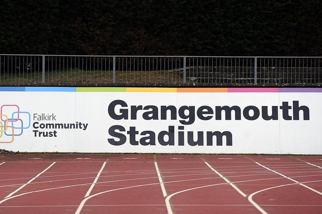 COVID-19 home testing kits are available at Grangemouth Stadium until Friday