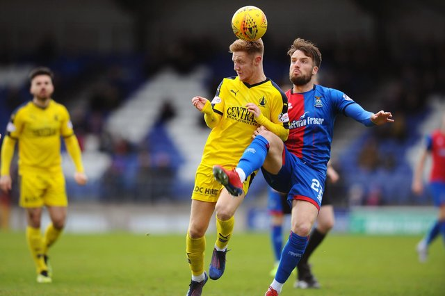 Inverness CT defender Brad McKay has reportedly agreed terms on a move to Falkirk