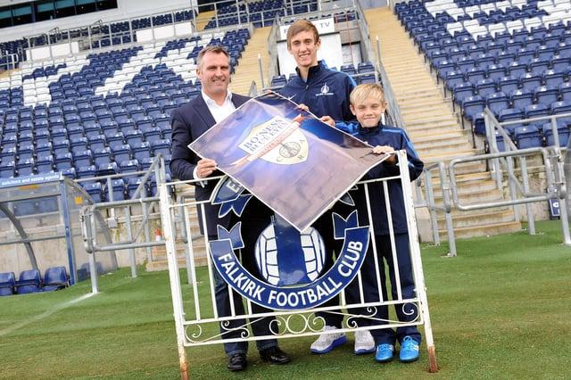 Bo'ness United Junior FC chairman Alex Brown (Pic by Michael Gillen)