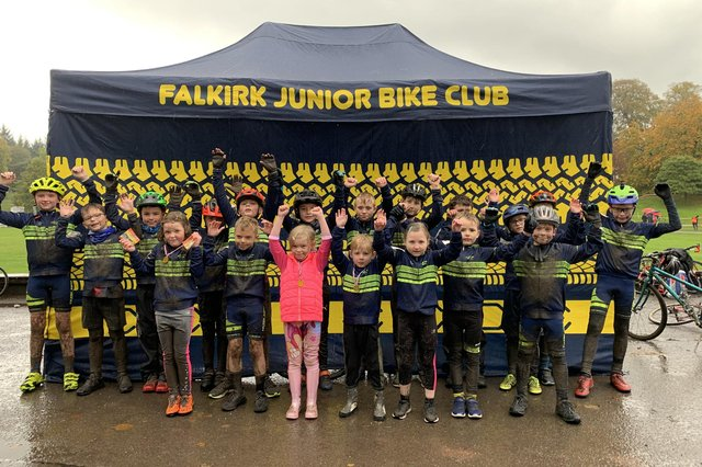 Falkirk Junior Bike Club will host a series of free cycling sessions for disadvantaged children and young people. Contributed.
