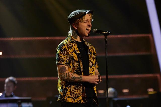 New Carron singer Craig Eddie has made it through to the final of The Voice. Picture: Rachel Joseph/ITV Studios.