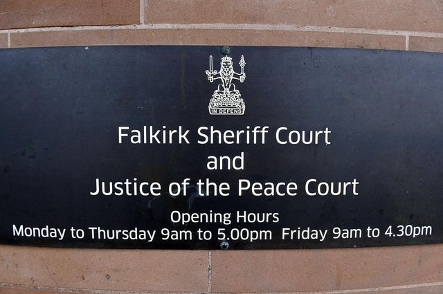 Johnson appeared at Falkirk Sheriff Court today to answer for his road traffic offence